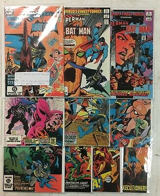 DC Comics Worlds Finest Superman Batman 290 299 Run Lot Set
