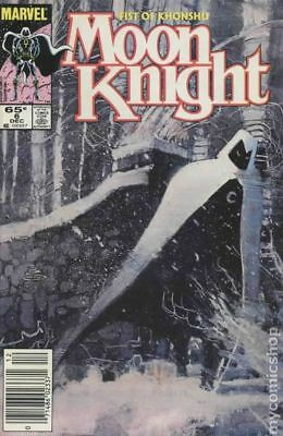 Moon Knight (2nd Series) Fist of Khonshu #6 1985 FN Stock Image