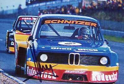 Klaus Ludwig Rodenstock Schnitzer BMW 2002 Turbo Nürburgring 1977 Top Foto 10x15