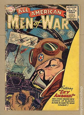 All American Men of War #33 1956 FR 1.0