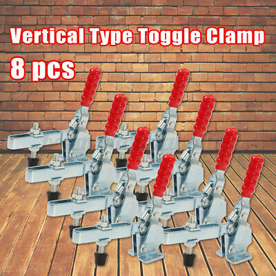 8X 227kg Quick Release Hand Operated Tool Horizontal Fast Toggle Clamp 12132