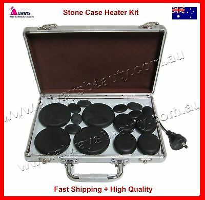 Hot Stone Heater Kit with Carry Case for Spa Hot Stones Massage Natural Therapy