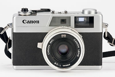 Canon Canonet 28 Sucherkamera Kamera mit 40mm 1:2.8 Optik - Defekt!