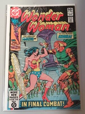 Wonder Woman #278 Dc Comics April 1981