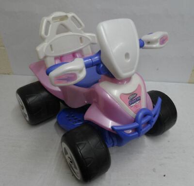 Chad Valley 6V Pink and Purple Baby Quad Bike RRP 49.99 lot B5416 1616376