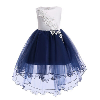 Flower Girl Dress Formal Princess Birthday Holiday Bridesmaid Dressy Wedding NEW