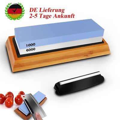 Sharpening System Polishing Stone Knife Sharpener Messerschärfer DIY Kitchen DHL