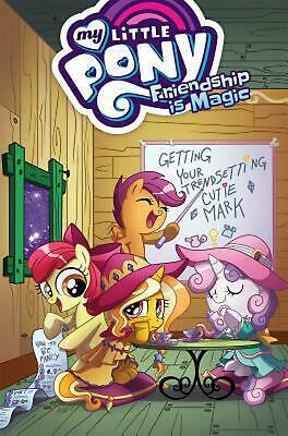 My Little Pony Friendship Is Magic Volume 14 by Ted Anderson Paperback Book Free