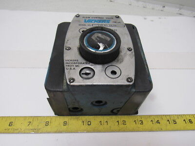 Vickers FCG032822 Flow Control Valve 3000 PSI Max With Integrated Check