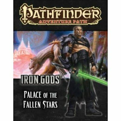 Pathfinder Adventure Path: Iron Gods Part 5 - Palace of - Paperback NEW Tim Hitc