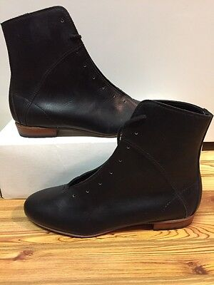 High Country, Size 6W WOMENS Clogging Tap Dance boots, Shoes, (no Taps) Black
