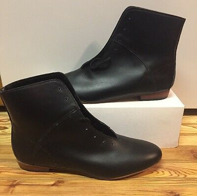 High Country, Size 11 M WOMENS Clogging Tap Dance boots, Shoes, (no Taps) Black
