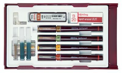 rotring Tuschefüller rapidograph College Set, 0,25 - 0,7 mm