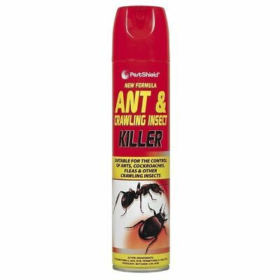 Ant Bug Cockroach Insect Killer Insecticide Fast Acting Spray Aerosol - 300ml