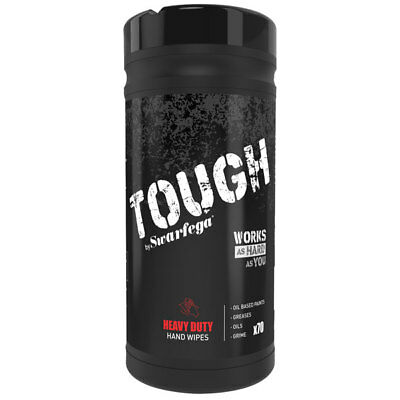 Swarfega STHW70W TOUGH Heavy Duty Hand Wipes 70 Wipes
