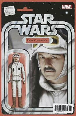 Star Wars #37 Action Figure Variant John Tyler Christopher Rebel Commander