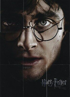 Harry Potter 9 DH Part 2 Double Sided Harry/Voldemort Puzzle Cards Full Set