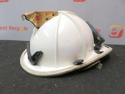Cairns & Brother Classic 1000 Firefighter Helmet EMT Fire Eagle Turnout Goggles