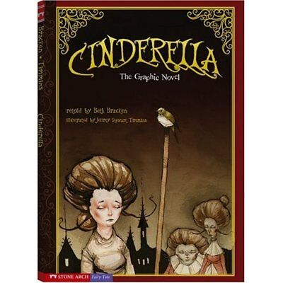 Cinderella: The Graphic Novel (Graphic Spin) - Library Binding NEW Bracken, Beth