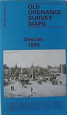 Old Ordnance Survey Maps Devizes Wiltshire  Godfrey Edition New