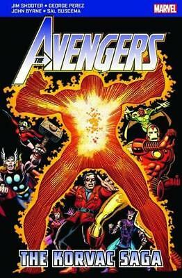 The Avengers: The Korvac Saga by various | Paperback Book | 9781846531767 | NEW