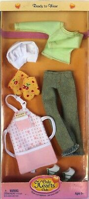 Only Hearts Club Ready to Wear Themed Cooking Outfit 216 Bakers Hat Apron Mitts