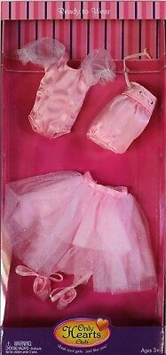 NEW Only Hearts Club Ready to Wear PINK Ballet Outfit 212 leotard tulle skirt