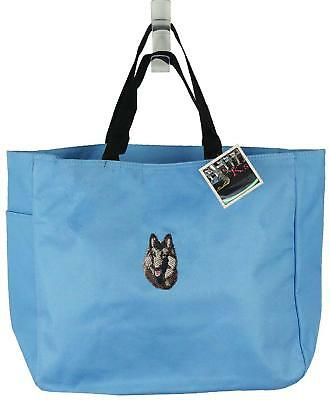Belgian Tervuren Essential Tote Doggy Daycare Show Dog + Pet Name Embroidered