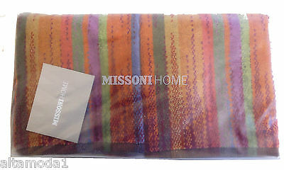 MISSONI HOME TWO HAND TOWELS SINGLE BRANDED PACKAGING ECO DYE KODY 149  COTTON