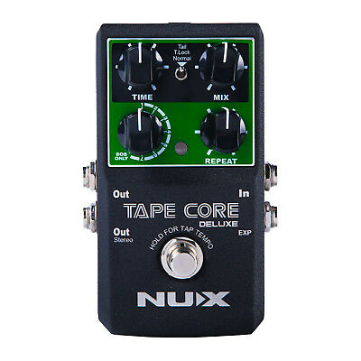 Nux Tape Core Deluxe Echo Effects Pedal - New