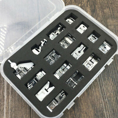 Domestic Sewing Machine Presser Foot Feet Repair for Brother Janome Singer Set*