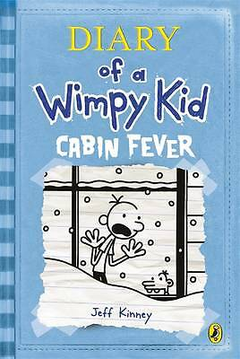 """""""AS NEW"""" Diary of a Wimpy Kid: Cabin Fever (Book 6), Kinney, Jeff, Book"""