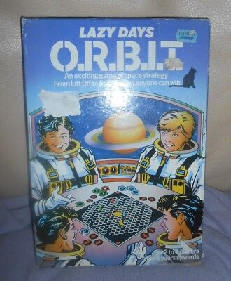 Vinatge 1975 - Lazy Days - ORBIT SPACE STRATEGY GAME - Habitat