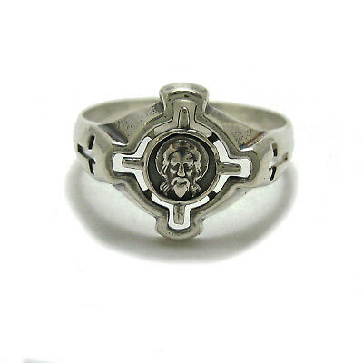 Genuine sterling silver ring hallmarked solid 925 Jesus R001785 Empress