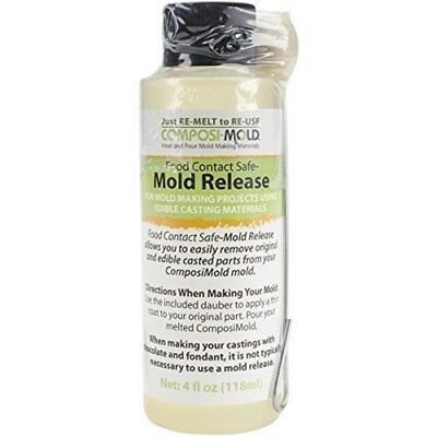 Composimold Vegetable Oil Food Contact Mold Release 4 Oz - Mould