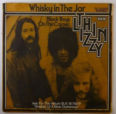"""7"""" Single - Thin Lizzy - Whisky In The Jar - S2777 - cleaned"""
