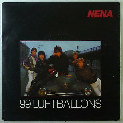 "7"" Single - Nena - 99 Luftballons - S2798 - cleaned"
