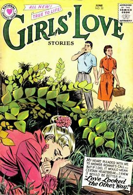 Girls' Love Stories # 55 (1958)  Silver Age Comic Book