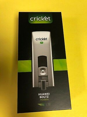 NEW Cricket Huawei Boltz 4G LTE USB Worldwide Hotspot Modem E397 (GSM UNLOCKED)