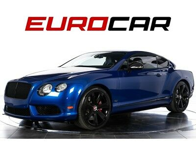 Continental GT V8 S (Concours Series Black Specification) 2015 Bentley Continental GT V8 S (Concours Series) - $237,540.00 MSRP!