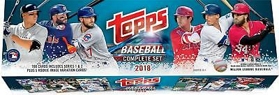 2018 Topps Baseball Retail Edition Complete 705 Card Factory Set