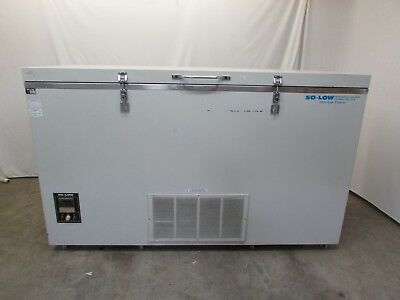 So-Low Ultra Low Chest Freezer C85-17  115V, 17 Cu. Ft, -40°C to -85°C Used
