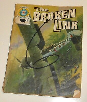 #522 Air Ace Picture Library Comic - THE BROKEN LINK - 1970