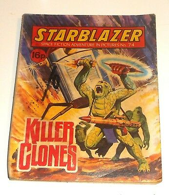 #74 Starblazer Picture Library - KILLER CLONES - 1982
