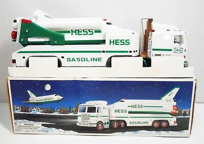 Hess 1999 Toy Truck with Shuttle and Satellite In Original Box