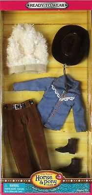 NEW Only Hearts Club Ready to Wear Brown Western Riding Outfit 3212