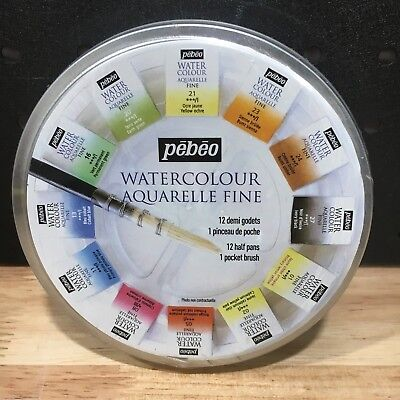 Pebeo Aquarelle Fine Watercolour 300075 - New