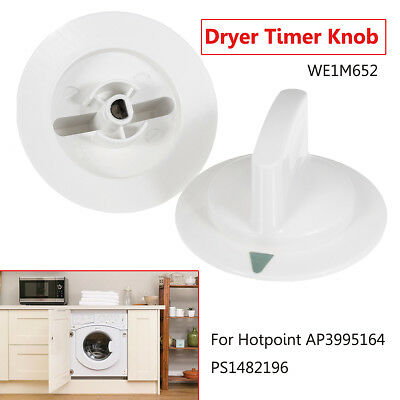 2pcs Dryer Timer Control Knob Part WE1M652 For Hotpoint AP3995164 PS1482196 New
