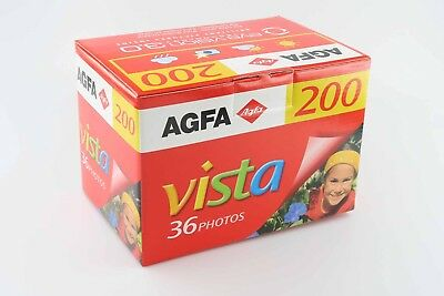 Agfa Werbung Display Vista 200 Schaufenster Filmbox