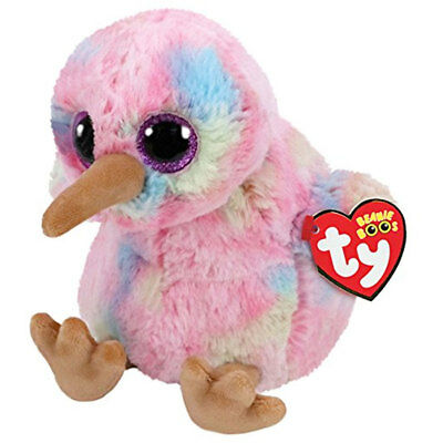 TY Beanie Boo Plush - Kiwi the Bird 15cm